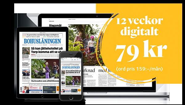 Prenumerera på e-tidningen - Bohusläningen i digitalt format.